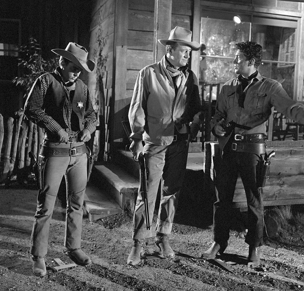 The three stars of Rio Bravo