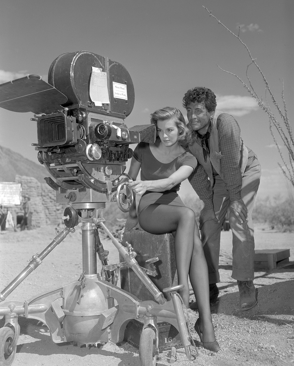 Rio Bravo Angie Dickinson and Dean Martin