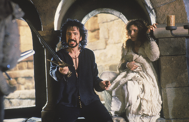 Alan Rickman in Robin Hood Prince of Thieves