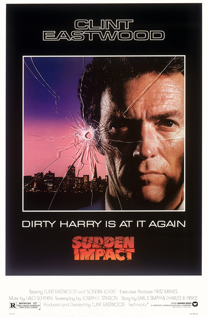 fourth title in the Dirty Harry series Sudden Impact