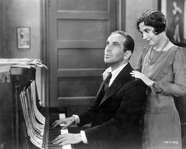 The Singing Fool - Al Jolson and Betty Bronson