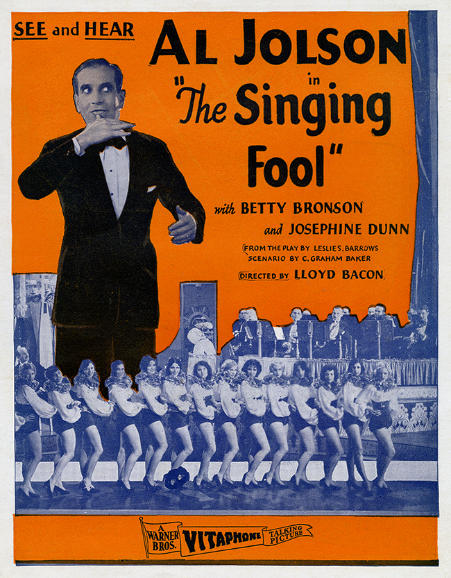 The Singing Fool - Flyer Cover