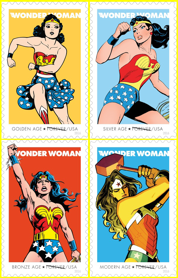 wonder woman forever stamps images