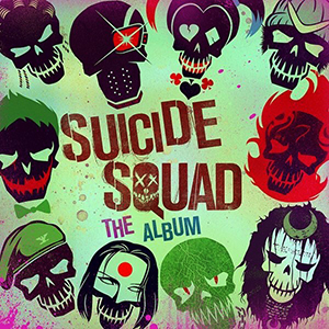 suicide squad the album cover
