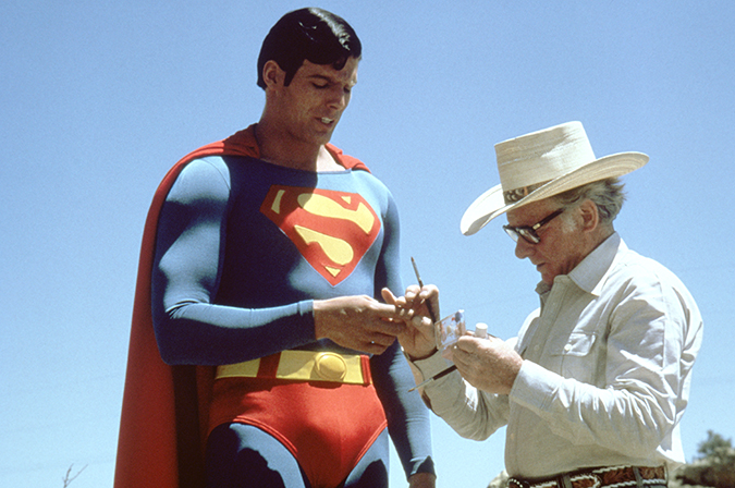 Superman - Christopher Reeve and Stuart Freeborn