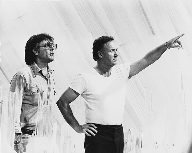Superman - Richard Donner and Gene Hackman on the Fortress of Solitude