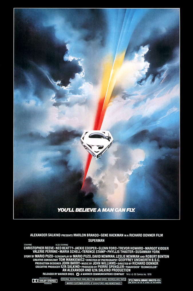Superman - 1978 Original Poster