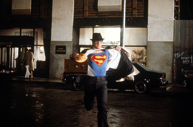 Superman - Christopher Reeve as Clark Kent