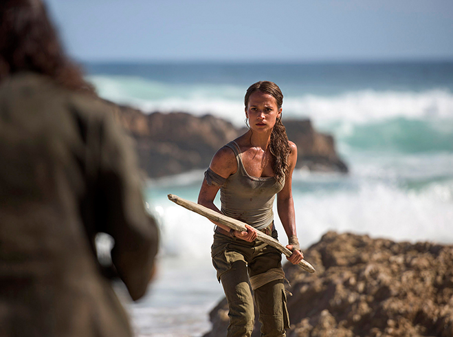 Academy Award winner Alicia Vikander takes on the role of Lara Croft in the origin story reboot of Tomb Raider.