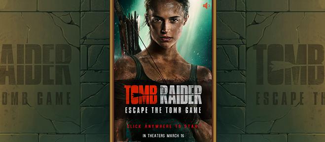 Tomb Raider Escape the Tomb Game