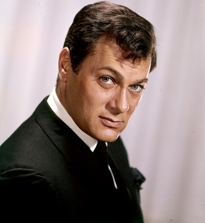 tony curtis in publicity photo for sex and the single girl