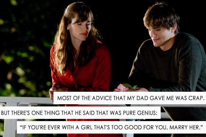 jennifer garner and ashton kutcher in a scene from valentine's day