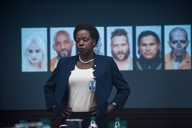 "viola davis stars as the ""brutal"" Amanda Waller in suicide squad"