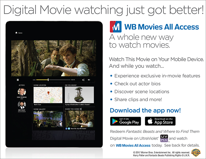 WB Movies All Access App