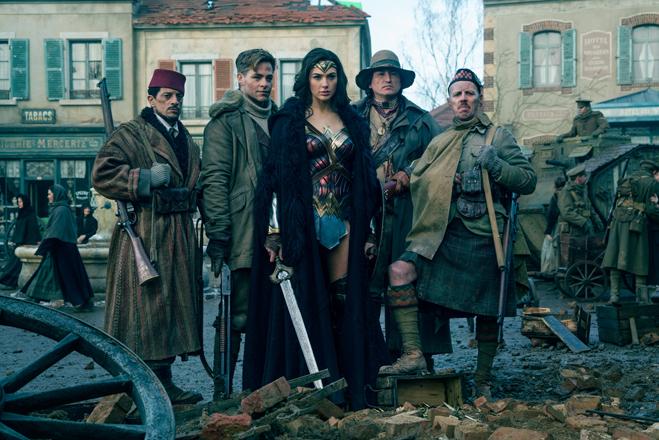 Cast of Wonder Woman