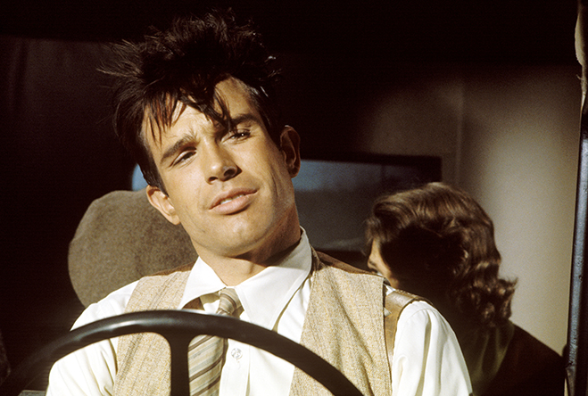 warren beatty as clyde barrow in 1967's bonnie and clyde