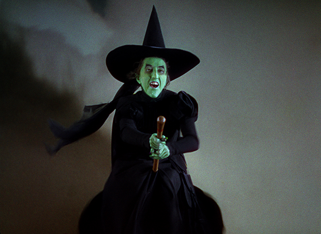 Before texting, witches had to skywrite on their brooms