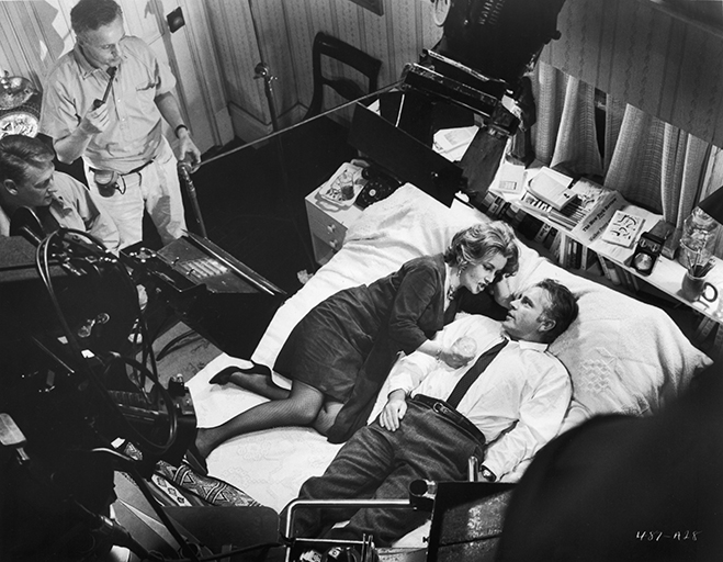 director mike nichols cinematographer Haskell Wexler Elizabeth Taylor Richard Burton Who's Afraid of Virginia Woolf bluray