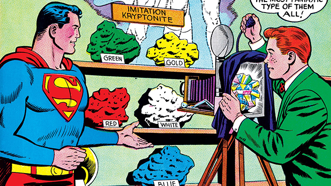 read the weird and wonderful world of kryptonite on dccomics.com
