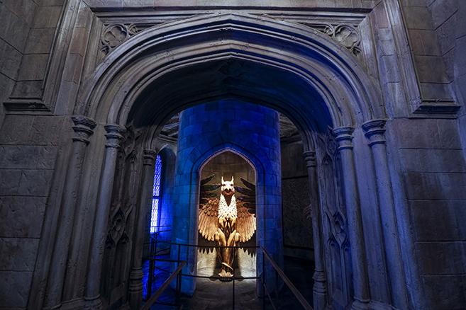 Wizarding World of Harry Potter Castle entrance