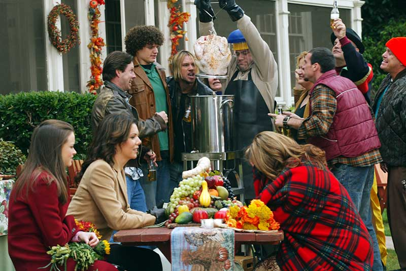 A Deep Fried Korean Thanksgiving - Gilmore Girls - Jackson, Melissa McCarthy, Lauren Graham, Alexis Bedel