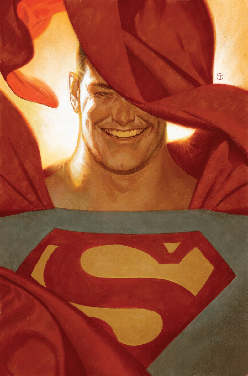 Action Comics #1029 variant cover by Julian Totino Tedesco