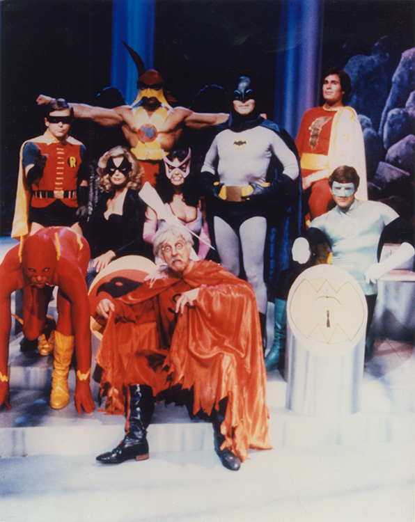 Legends of the Superheroes cast photo