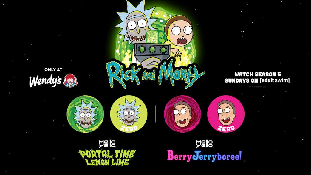 """Wendy's Expands Partnership with Adult Swim on Hit Series """"Rick and Morty"""""""