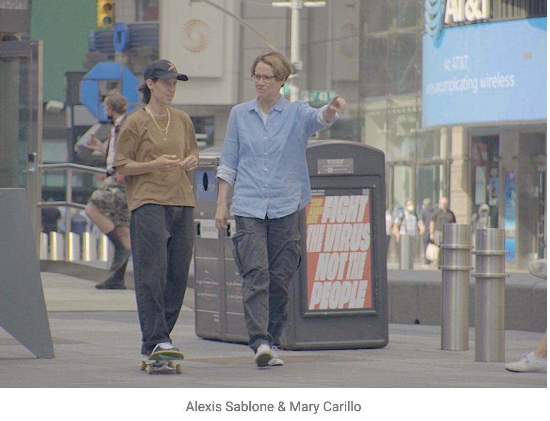 """""""Real Sports"""" - Alexis Sablone & Mary Carillo"""