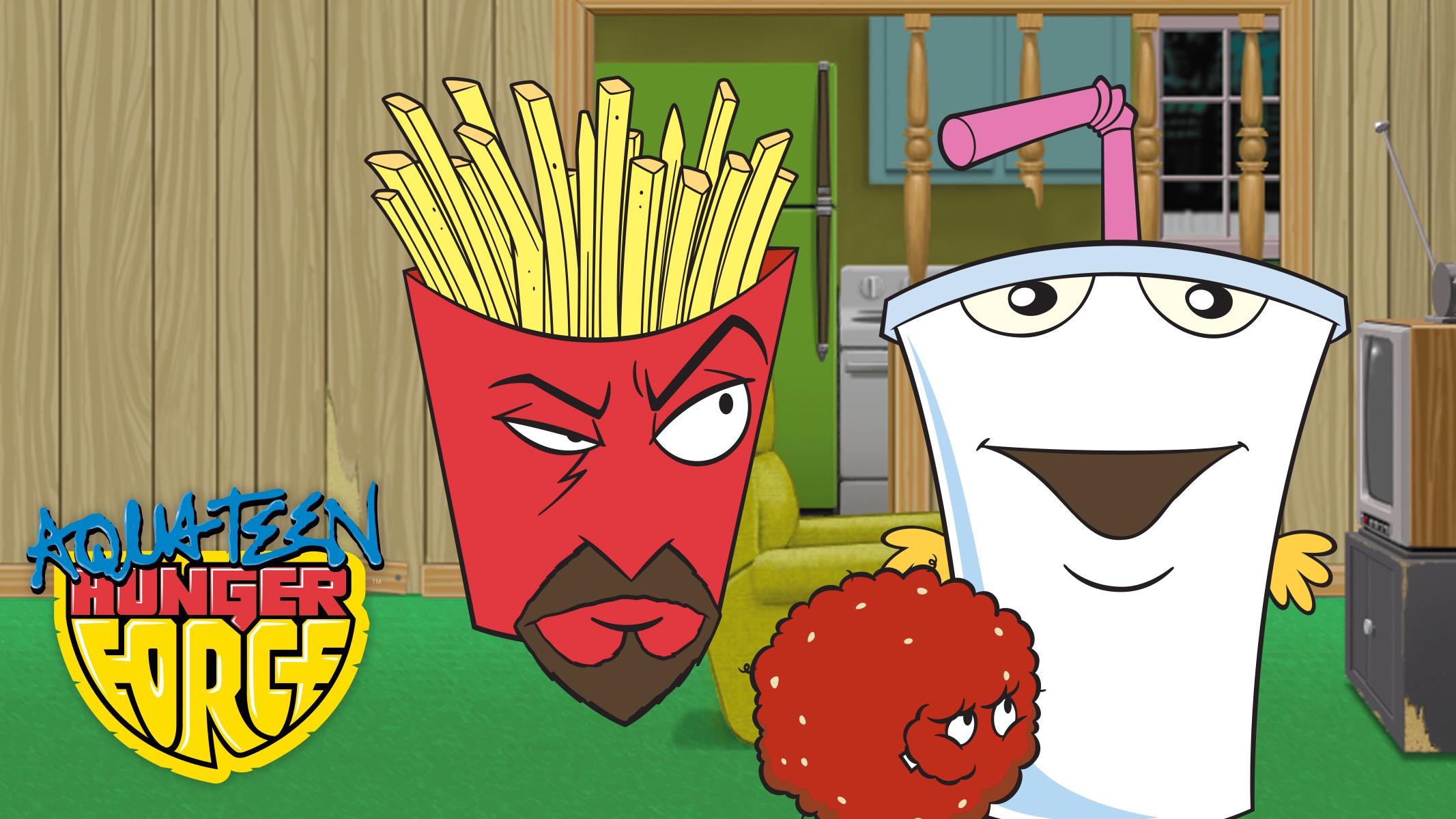 Aqua Teen Hunger Force - graphic image