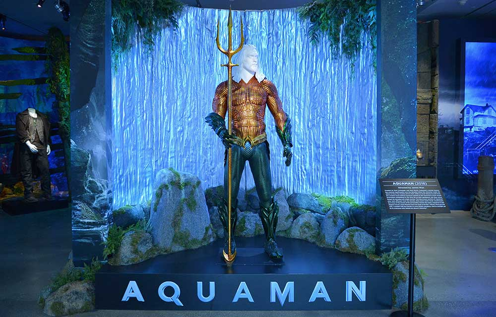 Warner Bros. Studio Tour Hollywood: Aquaman Exhibit