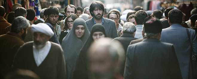 Director and star Ben Affleck as CIA agent Tony Mendez in a scene from Argo.