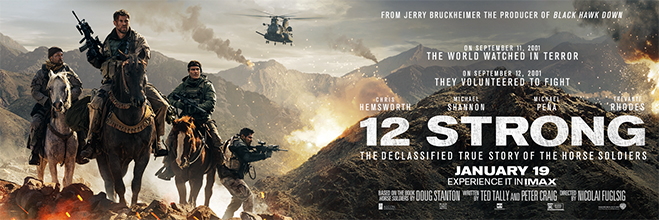 "Five Illuminating Facts About ""12 Strong"" - Banner"