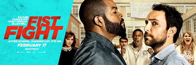 fist fight banner