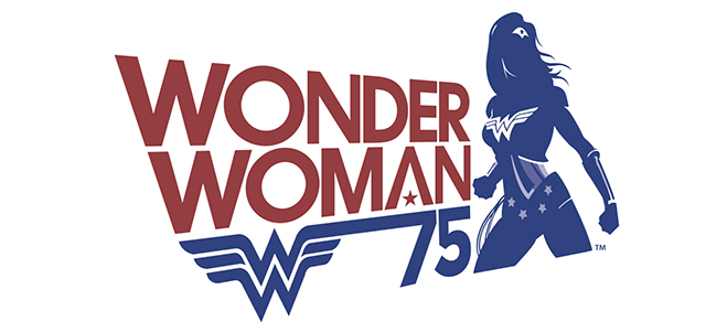 75 Years of Wonder Woman - Banner