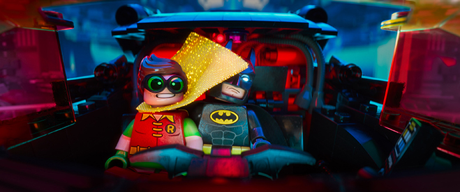 lego batman movie facebook live event