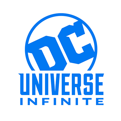 DC Universe Infinite - Logo - Stacked in blue