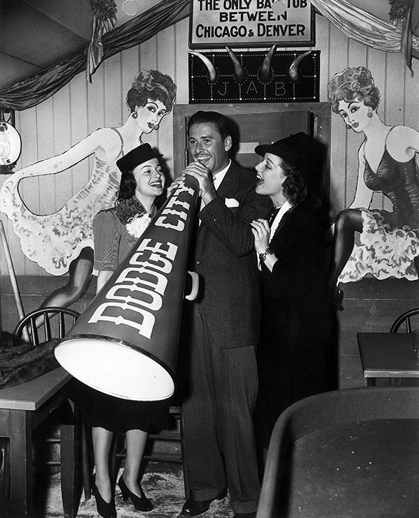 Olivia, Errol and Ann Sheridan