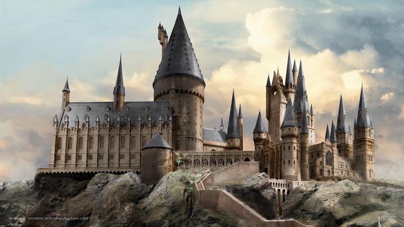 Hogwarts- Virtual background - 800 px