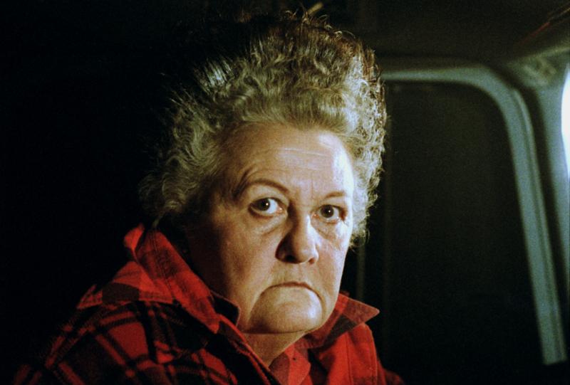 """Alice Nunn as Large Marge in """"Pee-Wee's Big Adventure."""""""