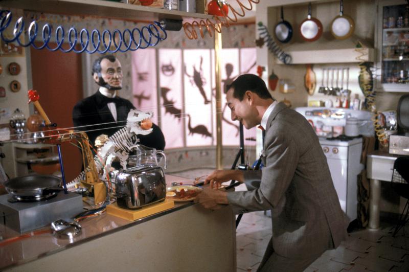 """Paul Reubens as Pee-Wee in """"Pee Wee's Big Adventure."""""""