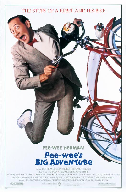 """Paul Reubens as Pee-Wee in """"Pee-Wee's Big Adventure."""""""