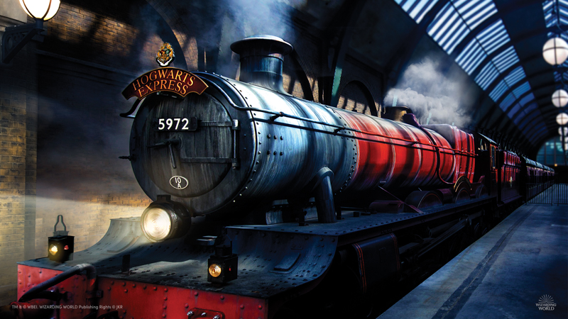 Platform 9 3/4 - Virtual background - 800 px