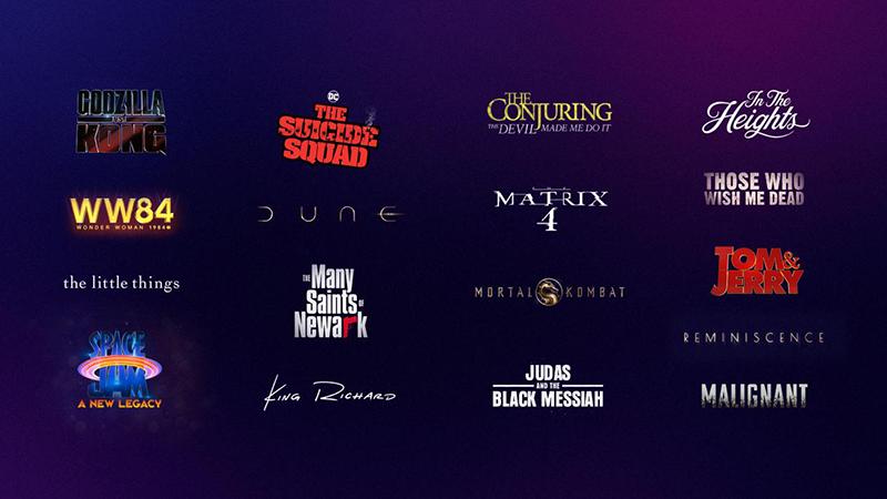 Warner Bros. 2021 Film Slate - New Hybrid Distribution Model