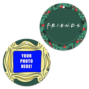 WB Shop Holiday Gift Guide - Friends Personalized Frame Ornament