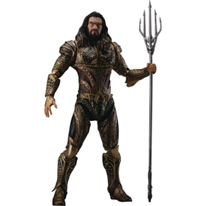 WB Shop Holiday Gift Guide - Justice League Movie Aquaman DAH-007 Dynamic 8action Heroes Action Figu