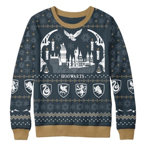 WB Shop Holiday Gift Guide - Holiday at Hogwarts Knit Sweater from Harry Potter