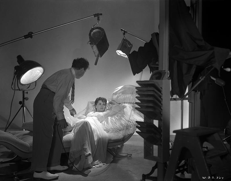 Olivia de Havilland and George Hurrell