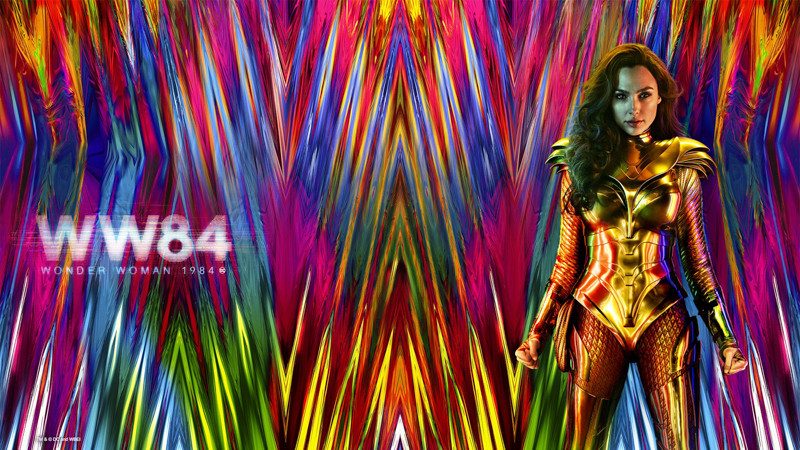 Wonder Woman 1984 - Virtual background - 800 px