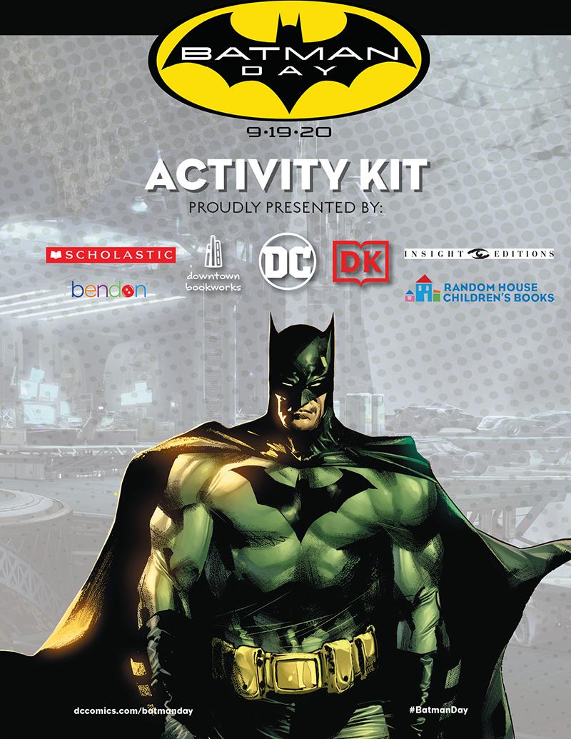 Batman Day - Activity City - Full Color - 800